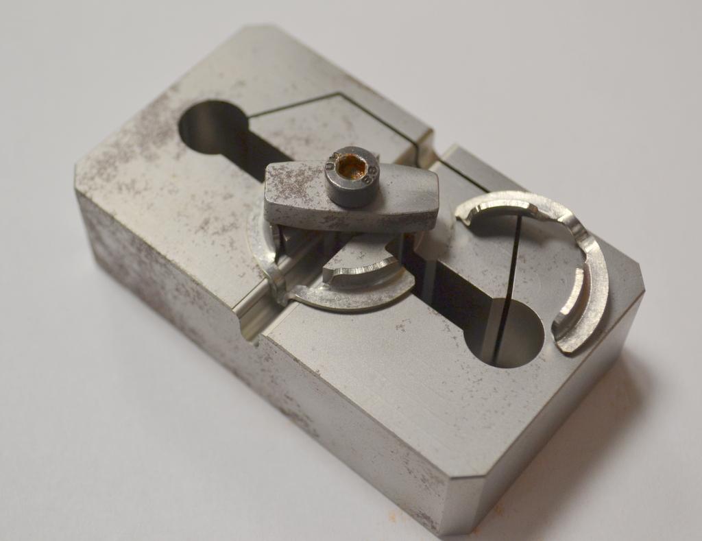 Prüflehre Metallteilchen